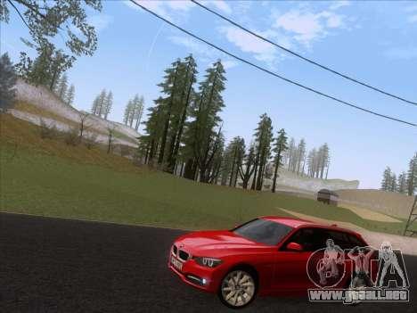 BMW 3 Touring F31 2013 para GTA San Andreas left