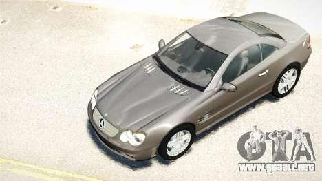 Mercedes-Benz SL65 2007 para GTA 4 vista interior