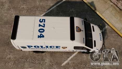 Mercedes-Benz Sprinter 3500 Emergency Response para GTA 4 visión correcta