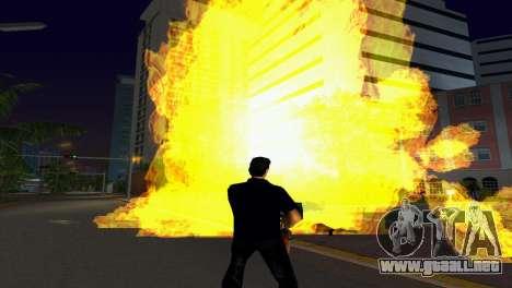 Nuevos efectos gráficos v.2.0 para GTA Vice City sucesivamente de pantalla