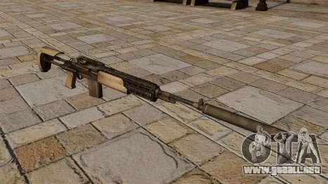 M14 rifle con silenciador para GTA 4