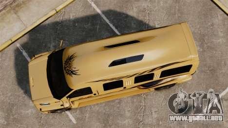 GMC Business superstar para GTA 4 visión correcta
