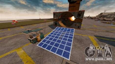 Pistola de helicóptero para GTA 4 segundos de pantalla