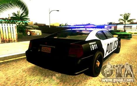 Police Buffalo GTA V para GTA San Andreas left