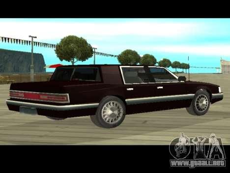 Willard HD (Dodge dynasty) para GTA San Andreas vista posterior izquierda