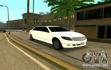 Stretch from GTA 4 para GTA San Andreas