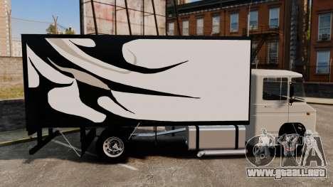 Mercedes-Benz 608 para GTA 4 left