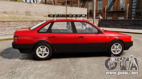 Volkswagen Passat B3 1995 para GTA 4 left