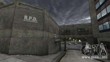 Estación de policía, mapache para GTA 4 adelante de pantalla