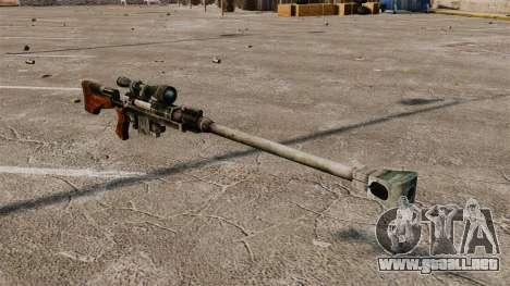 Anti-material rifle para GTA 4