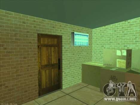 Nuevas texturas para interior para GTA San Andreas sexta pantalla