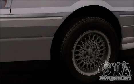 FSO Polonez Atu Orciari 1.4 GLI 16V para GTA San Andreas vista posterior izquierda