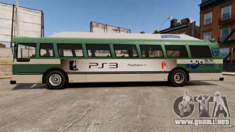 Real publicidad en taxis y autobuses para GTA 4 adelante de pantalla