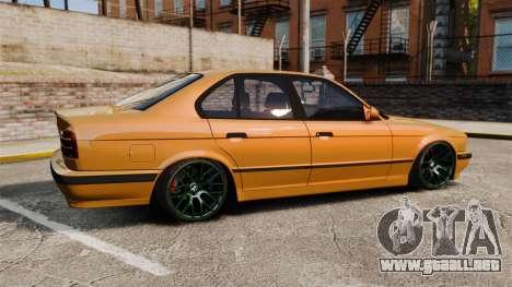 BMW M5 1995 para GTA 4 left