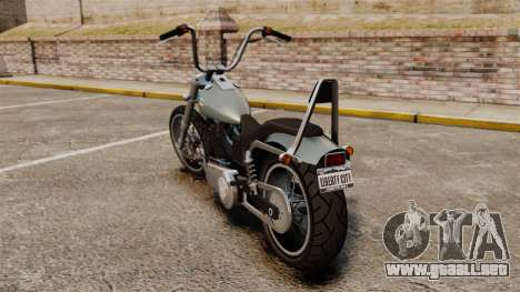GTA IV TLAD Angel para GTA 4 Vista posterior izquierda