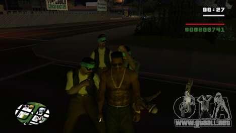 Brass Knuckles para GTA San Andreas sexta pantalla