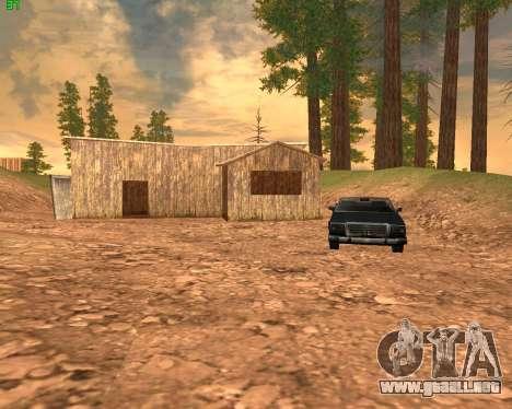 ENB Series for SAMP para GTA San Andreas sexta pantalla