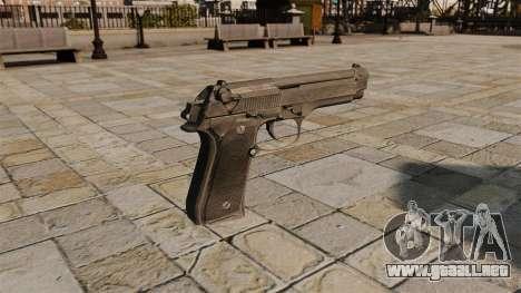 Pistola semiautomática Beretta para GTA 4 segundos de pantalla