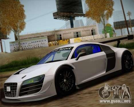 Audi R8 LMS Ultra v1.0.1 DR para GTA San Andreas