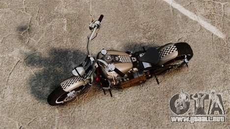 Harley-Davidson Knucklehead v2 para GTA 4 Vista posterior izquierda
