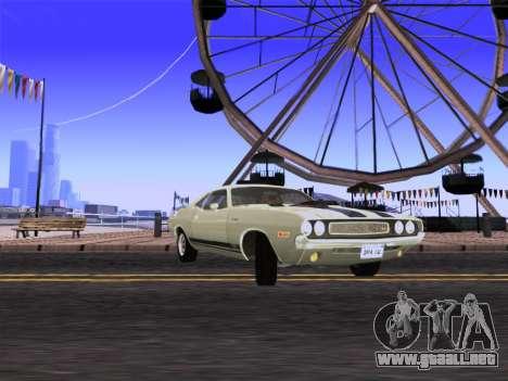 SA_RaptorX v2.0 para PC débil para GTA San Andreas tercera pantalla