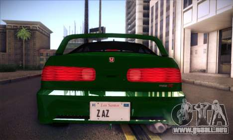 Honda Integra Normal Driving para la visión correcta GTA San Andreas