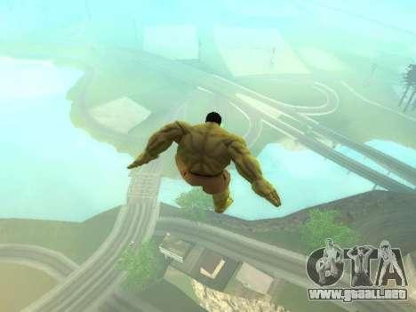 Hulk Jump para GTA San Andreas