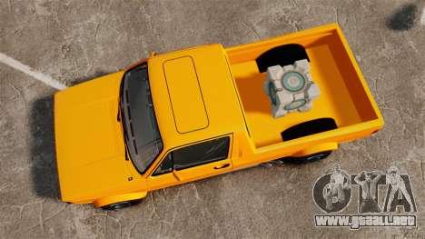 Volkswagen Caddy para GTA 4 visión correcta