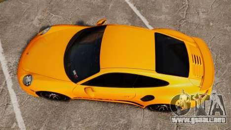Porsche 911 Turbo 2014 [EPM] Turbo Side Stripes para GTA 4 visión correcta