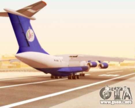Il-76td Silk Way para la visión correcta GTA San Andreas