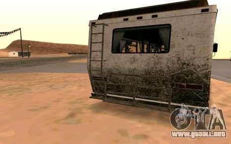 Viaje de GTA 5 para GTA San Andreas vista posterior izquierda