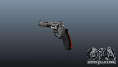Raging Bull revólver para GTA 4 segundos de pantalla