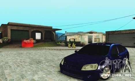 Lada Granta Hatchback para visión interna GTA San Andreas