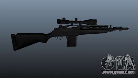 El fusil semiautomático M14 para GTA 4 tercera pantalla