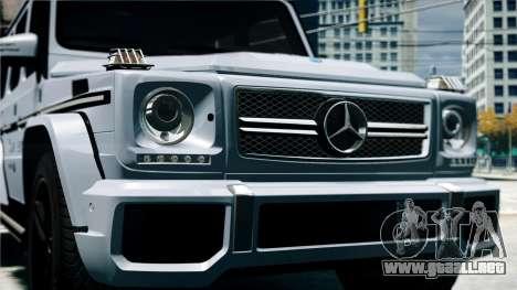 Mercedes-Benz G65 AMG 2013 para GTA 4 visión correcta