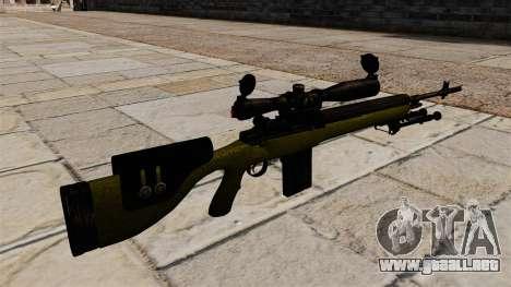 Cnajperskaâ rifle M14 DMR para GTA 4 segundos de pantalla
