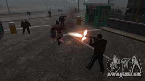 Nuevo Zombie-script para GTA 4 sexto de pantalla