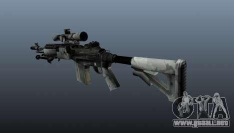 Rifle de francotirador M21 Mk14 v1 para GTA 4 segundos de pantalla