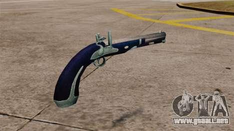 Pistola de pedernal-cerradura para GTA 4 segundos de pantalla