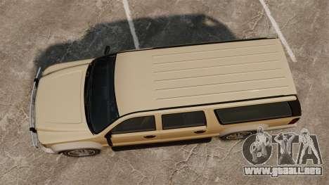 GTA V Declasse Granger 3500LX para GTA 4 visión correcta