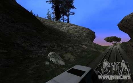 ENBSeries v3 para GTA San Andreas tercera pantalla
