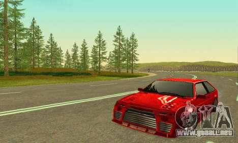 VAZ 2108 Aarr estilo para GTA San Andreas left