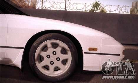 Nissan 240SX 1991 Tunnable para GTA San Andreas vista hacia atrás