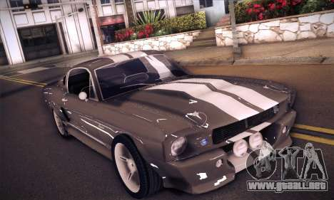 Shelby GT500 E v2.0 para GTA San Andreas left