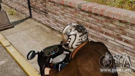 Una colección de cascos Arai v1 para GTA 4 sexto de pantalla
