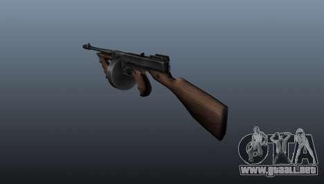 Subfusil Thompson M1928 para GTA 4 segundos de pantalla