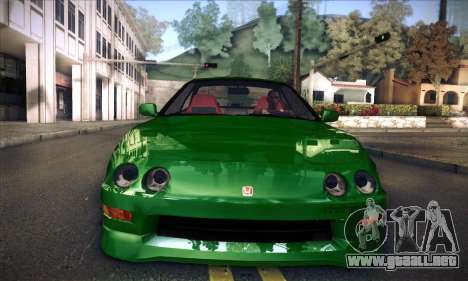 Honda Integra Normal Driving para GTA San Andreas vista posterior izquierda