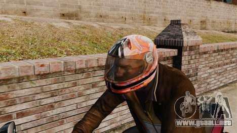 Una colección de cascos Arai v1 para GTA 4 tercera pantalla