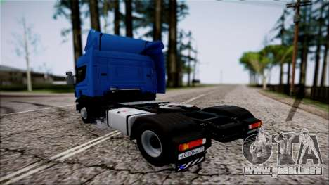 Scania P400 para GTA San Andreas left
