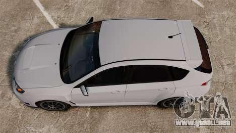Subaru Impreza Cosworth STI CS400 2010 para GTA 4 visión correcta